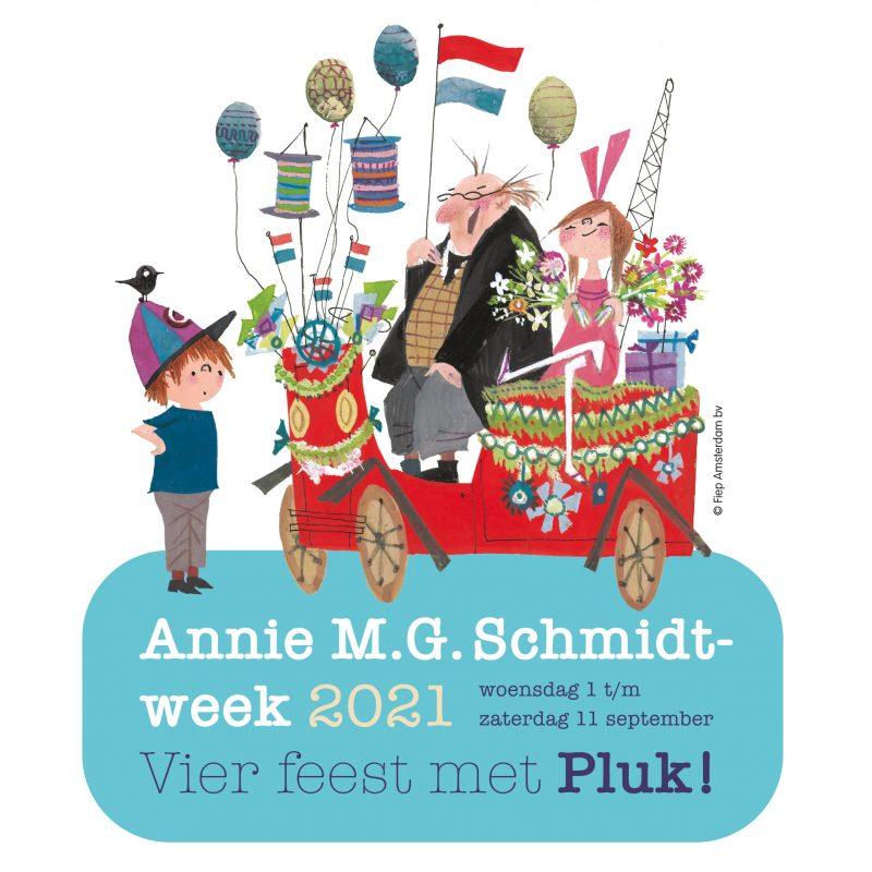 Logo Annie MG Schmidtweek 2021